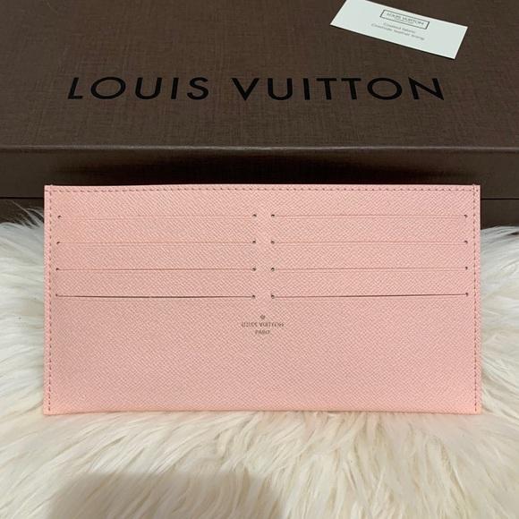 Louis Vuitton Accessories - Louis Vuitton Rose Ballerine Credit Card Insert